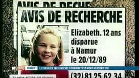 RTL INFO 19H : Décès de Michel Fourniret: rappel de l'affaire Brichet