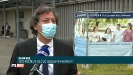 RTL INFO 19H : Coronavirus : l'impact des cours à distance sur le niveau dans le s...