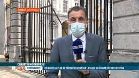 RTL INFO 13H : Le point sur le Codeco du jour avec Christophe Deborsu