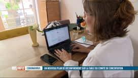 """RTL INFO 13H : Les """"télétravailleurs"""" ont presté plus d'heures qu'à leur bureau"""