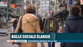"""RTL INFO 19H : De gros changements aussi dans les règles de la """"bulle sociale"""""""