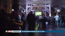 RTL INFO 19H : Les professionnels de l'événement saluent la décision du Codeco