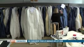 RTL INFO 13H : Coronavirus: assouplissement des mesures sanitaires pour les mariages