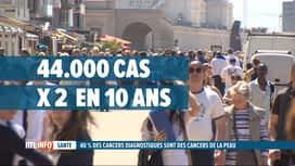 RTL INFO 13H : Forte augmentation du nombre de cancers de la peau en Belgique