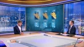 RTL INFO 13H : Les prévisions météo pour ce week-end de l'Ascension prolongé