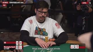 Mustapha Kanit aux WSOP 2019 - épisode 6