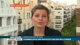 RTL INFO 19H : Le point sur les conditions pour entrer en Espagne en ce WE d'Ascen...