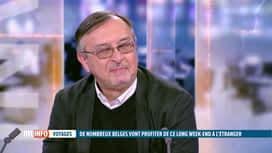 RTL INFO 19H : Précisions d'Yves Van Laethem à propos des retours en Belgique