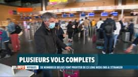 RTL INFO 19H : Départs en vacances de nombreux Belges en ce weekend de l'Ascension