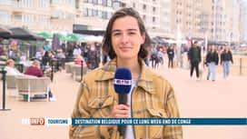 RTL INFO 13H : Ascension : la côte belge fait le plein de touristes