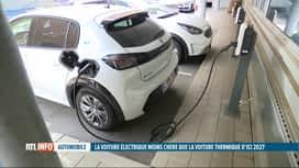 RTL INFO 13H : Encore peu de constructeurs automobiles investissent dans l'électrique
