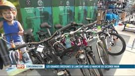 RTL INFO 19H : Les grandes enseignes s'ouvrent à la vente de vêtements d'occasion