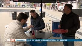 RTL INFO 13H : Coronavirus: premier bilan de la réouverture des terrasses
