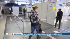 RTL INFO 19H : Le centre de vaccination de Pepinster écoule ses doses d'AstraZeneca