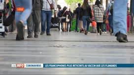 RTL INFO 19H : Coronavirus: les Francophones seraient plus réticents à se faire va...