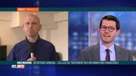 RTL INFO 13H : La crise sanitaire n'a pas eu d'impact sur la fraude financière, bi...