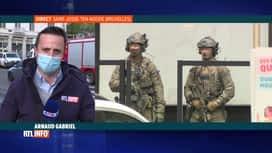 RTL INFO 19H : Un quartier de Saint-Josse bouclé par les forces de l'ordre