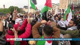 RTL INFO 19H : Manifestation à Bruxelles en souvenir de la Nabka palestinienne