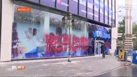 RTL INFO 19H : Le siège du MR couvert de slogans propalestiniens