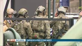 RTL INFO 13H : Quartier de Saint-Josse bouclé: la police met fin à une prise d'otage