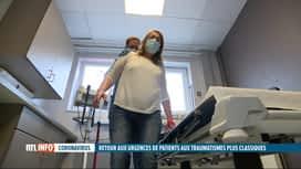 RTL INFO 13H : Les urgences se remplissent, mais pas à cause du Covid-19