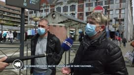 C'est pas tous les jours dimanche : Ces francophones qui ne veulent pas se faire vacciner
