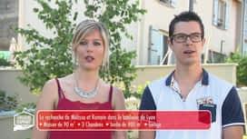 Chasseurs d'appart : Lyon et sa banlieue 2/5 : Caroline - Léo - Grégory