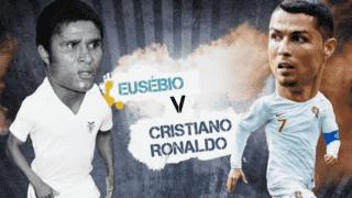 Ronaldo vs Eusébio