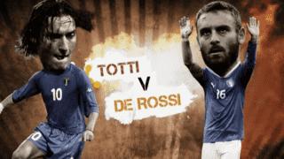 Totti vs De Rossi