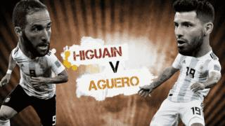Higuaín vs Agüero
