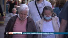 RTL INFO 13H : Coronavirus: va-t-on pouvoir abandonner les masques bientôt?