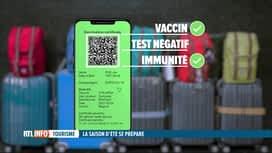 RTL INFO 13H : Coronavirus: quand le pass Covid sera-t-il disponible et comment...