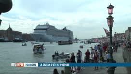 RTL INFO 13H : Coronavirus: arrivée du premier navire de croisière depuis 17 mois ...