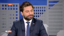 RTL INFO 13H : Christophe Deborsu reçoit Georges-Louis Bouchez, président du MR