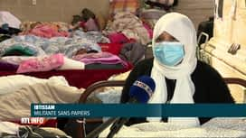 RTL INFO 13H : Près de 500 sans-papiers font la grève de la faim depuis le 23 mai...