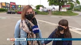 RTL INFO 19H : Cornavirus: les gestes barrières sont-ils encore respectés?