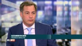 RTL INFO 19H : Coronavirus: Alexander De Croo est l'invité du RTLInfo 19H