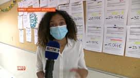 RTL INFO 13H : Grève des infirmiers urgentistes de l'Hôpital Erasme à Bruxelles