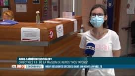 RTL INFO 13H : Coronavirus: 9 résidents d'une maison de repos de Nivelles sont déc...