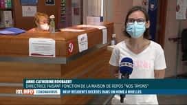 RTL INFO 19H : Coronavirus: décès de neuf résidents d'un home de Nivelles
