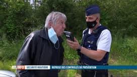 RTL INFO 19H : La police va multiplier les contrôles d'alcoolémie en Wallonie