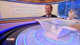 RTL INFO 13H : Accord interprofessionnel : la réaction de Paul Magnette