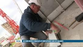 RTL INFO 13H : Salaires, pensions, heures supp : un accord a été trouvé