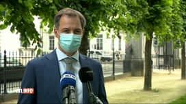 RTL INFO 19H : Accord interprofessionnel : la réaction d'Alexander De Croo