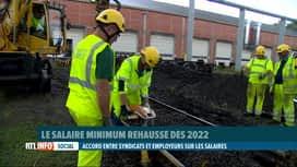 RTL INFO 19H : Salaires, pensions,... : les détails de l'accord interprofessionnel