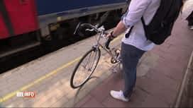 RTL INFO 19H : La SNCB prévoit quelques aménagements pour les vélos