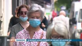 RTL INFO 13H : Le masque n'est plus obligatoire en rue à Bruxelles à partir de ce ...
