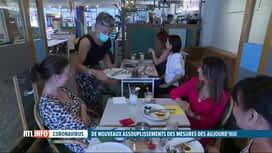 RTL INFO 13H : Cafés et restaurants peuvent enfin rouvrir en intérieur ce mercredi !