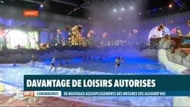 RTL INFO 13H : Le Plopsaqua Hannut inauguré en ce jour de déconfinement
