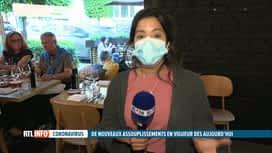 RTL INFO 19H : Les restaurants rouvrent en intérieur ce mercredi: le point avec Ha...